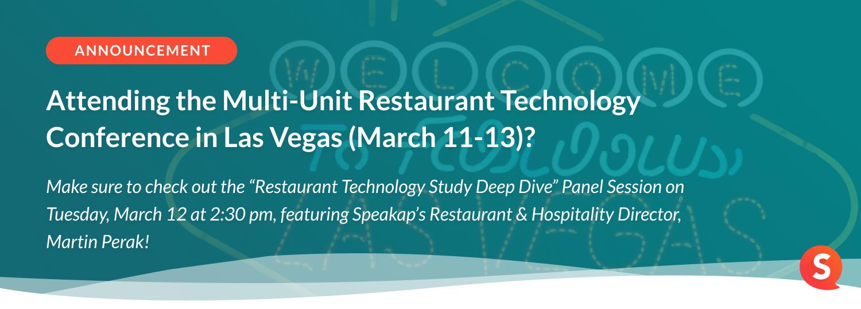 CTA - Restaurant Technology Las Vegas CTA