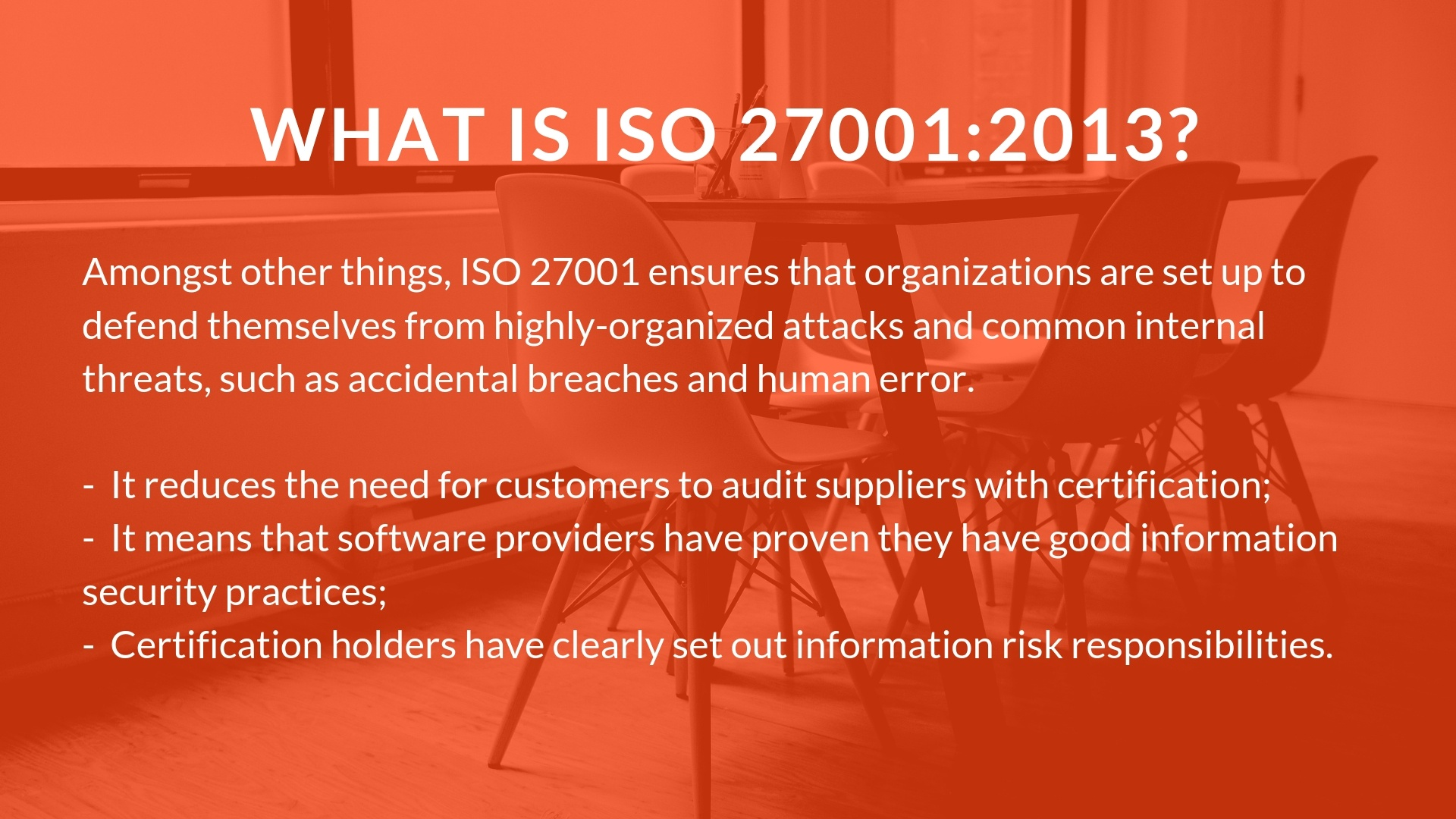 ISO que es