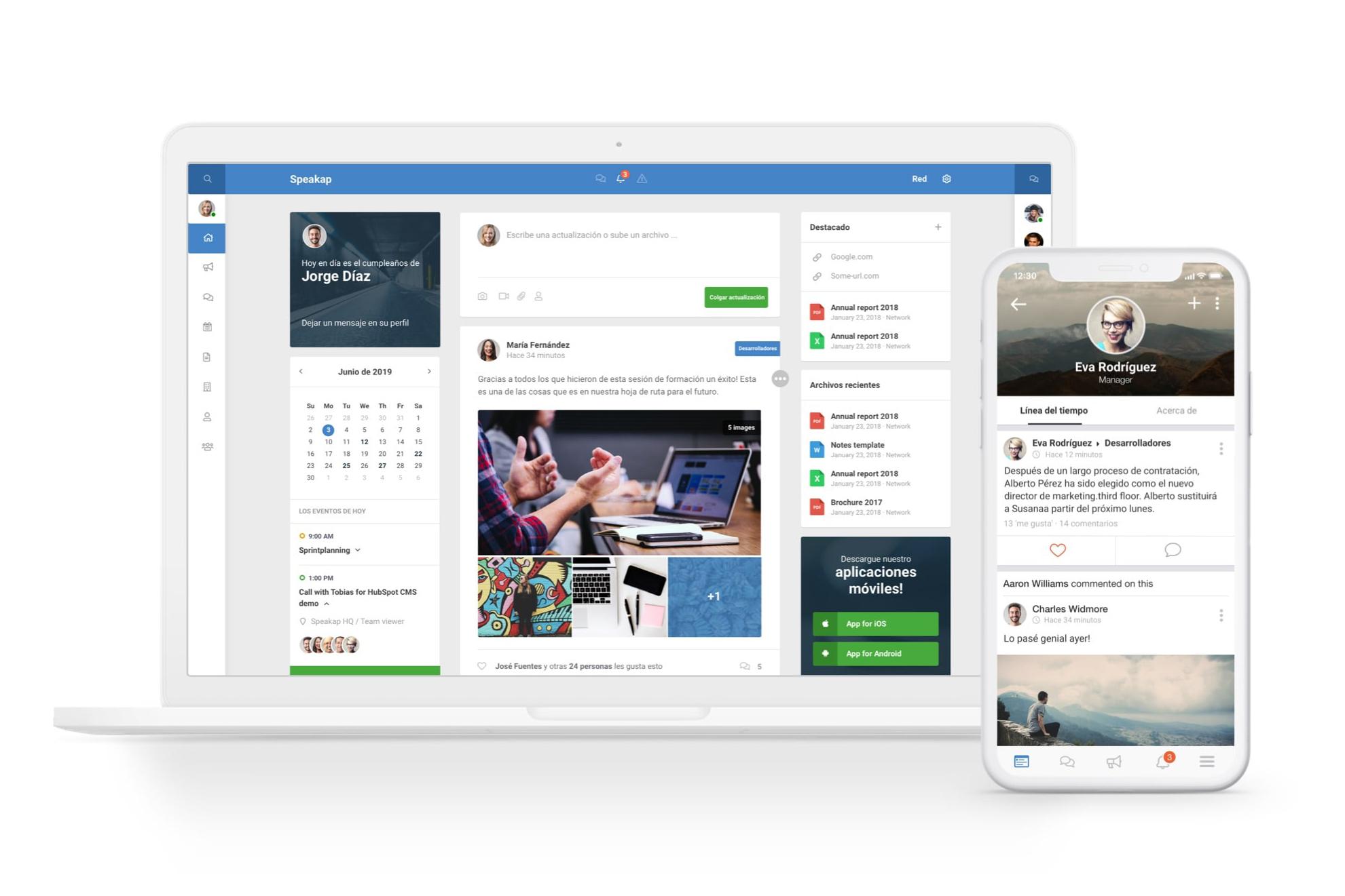 Comunicacion Interna plataforma