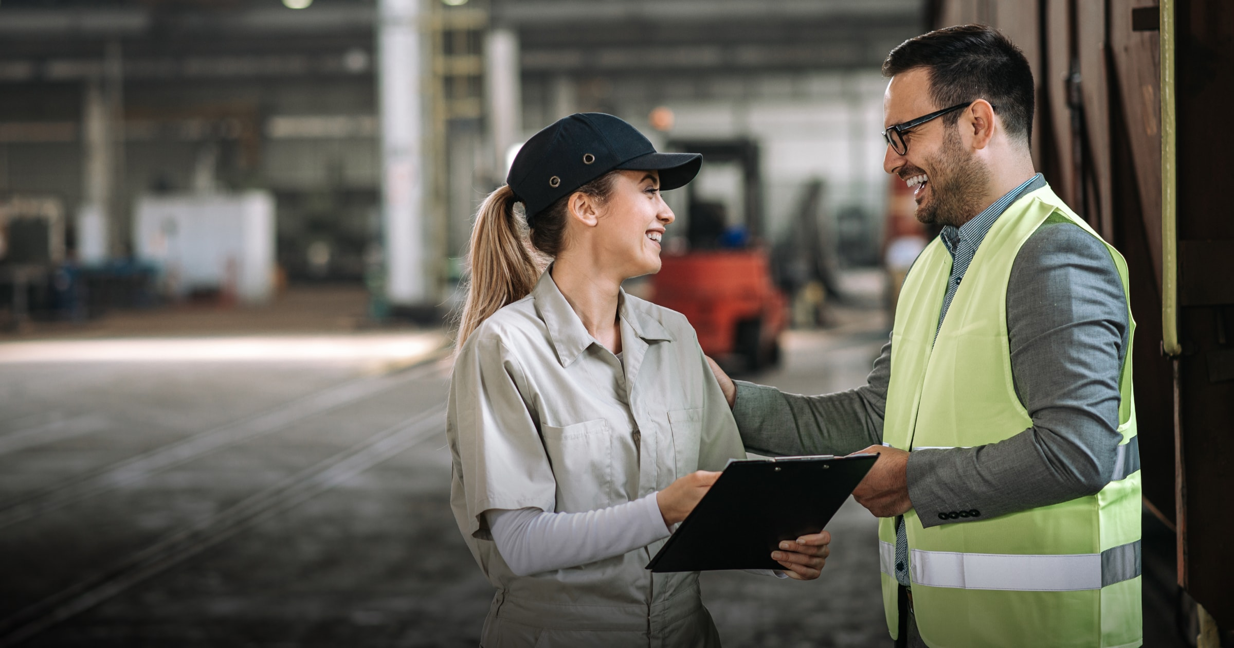 Employee engagement between manager and frontline worker in factory