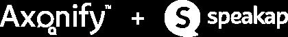 axonify and speakap logo