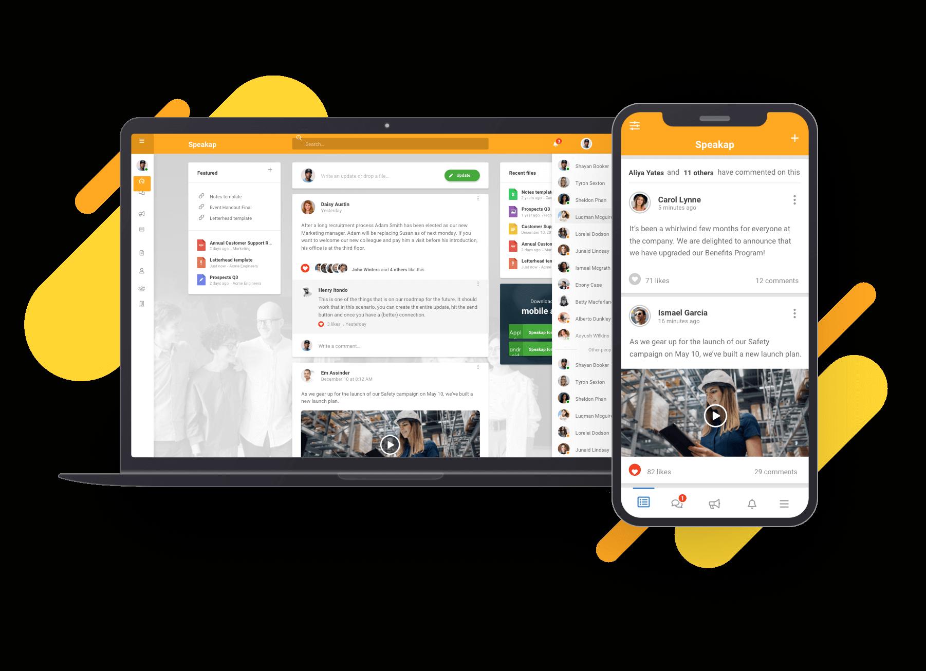 Speakap platform